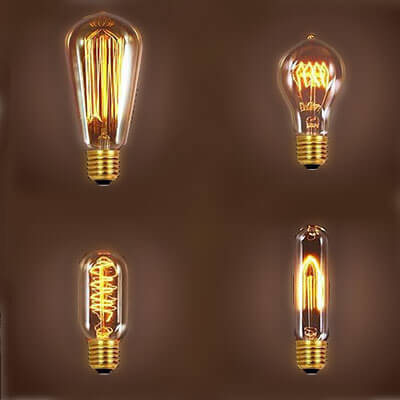 Rent Vintage Edison Bulbs American Party Lights