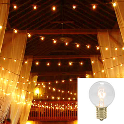 Rent LED Globe Lights - Free Shipping Nationwide
