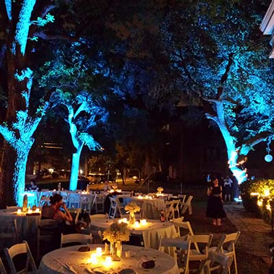 Outdoor Led Uplight Rental American Party Lights